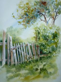 Anne Larose #watercolor jd