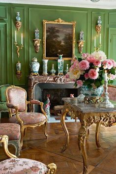 Eye For Design: Decorating Your Home With The Pink/Green Combination