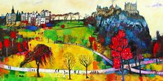 Colorful Edinburgh