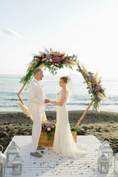 Beach wedding in Gre