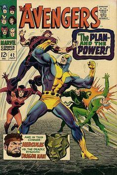 Avengers # 42 by John Buscema & George Roussos
