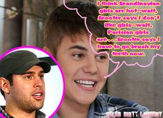 Justin Bieber Tries To Dish On Girls But Scooter Braun Shuts Him Down (Audio) -- listen to this hilarious audio interview!