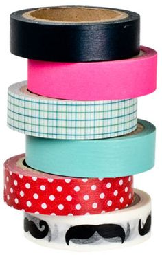 Paper Tape (base collection) #lagerhaus #diy #giftwrapping #scrapbooking