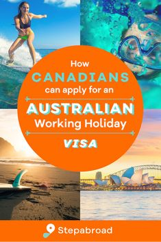 The requirements and details for getting your Australian Working Holiday visa are laid out in this simple step-by-step application guide. With a working holiday visa, Canadians can work and travel around Australia for up to12 months! Working Holiday Visa, Working Holidays, Work In Australia, Work Travel, Travel Around, Traveling By Yourself, To Go, How To Apply, Canning