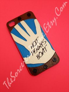 HANDMADE LOST T.V. show iPhone Case Not Penny's Boat, Charlie.  iPhone 4 /4s iPhone 5 available soon. Dharma Phone Case Cover