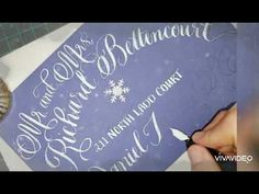 Christmas Holiday Envelope addressing