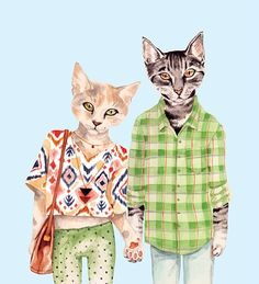 ilustración de Jazzy  http://but-honestly-em.blogspot.com.es/2011/09/cat-im-kitty-cat.html