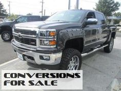 2014 Chevy Silverado 1500 LTZ Southern Comfort Lifted Truck