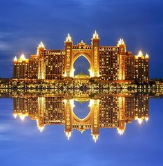 The Atlantis  Palm in Dubai