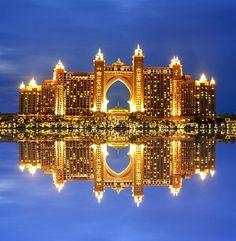 The Atlantis Palm in Dubai
