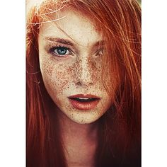 Freckles and/or Redheads Lentiggini e/o Capelli Rossi (Warning Nudity... ❤ liked on Polyvore