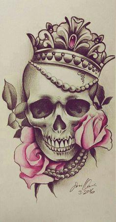 - CoolTop Friend Tattoos – tatouage # Tatouage The Ef - Small Skull Tattoo, Skull Tattoo Flowers, Skull Rose Tattoos, Skull Tattoo Design, Flower Tattoos, Body Art Tattoos, Sleeve Tattoos, Tattoo Designs, Tattoo Ideas
