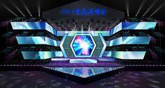 concert stage design 04 3d model max obj mtl 1