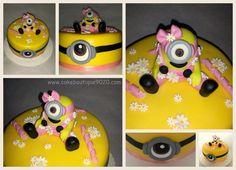 Minion Cake Petra, Minions, Cake, Desserts, Food, Ideas, Tailgate Desserts, Deserts, The Minions