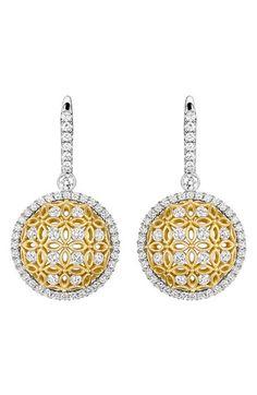 Women's Jack Kelege 'Gatana' Diamond Drop Earrings