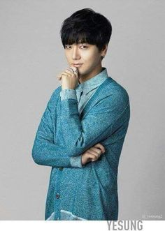 Yesung in Lotte Duty Free
