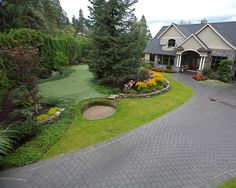 Roots, Golf Courses, Front Yards, Landscape, Gallery, Gardens, Landscaping, Yard, Front Courtyard