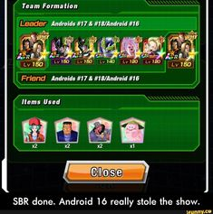 Team Forma Lion Sbr Done Android Lo Really Stole The Show Sbr Done Android 16 Really Stole The Show Ifunny Done Meme Lion Memes Memes