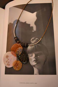 Collar de Cd reciclado www.facebook.com/cedes.de.jazz