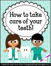 TGIF! - Thank God It's First Grade!: Dental Health Freebie!