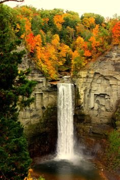 Finger Lakes Falls by Front9Images on Etsy