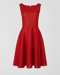 Maria Button Back Dress - Jaeger
