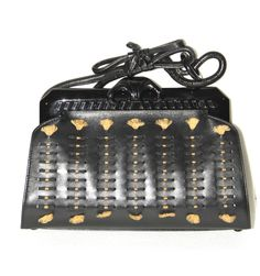 For Sale on - This stylish clutch is crafted of black leather. It features a looping top handle, a snake-resin made detail, a top lacquer frame and a snap clasp. Christian Dior, Dior Handbags, Fashion Handbags, Vintage Clutch, 60th Anniversary, John Galliano, Purses And Bags, Snake, Black Leather