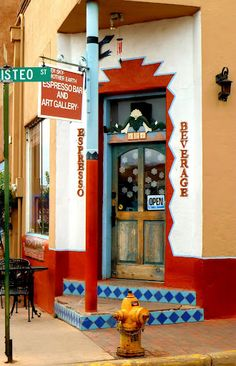 """Santa Fe, New Mexico I """"think"""" this is Pasquale's on the corner of Galesteo. Amazing food !"""