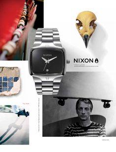 Nixon: The Player & Tony Hawk