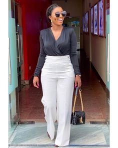 Classy Work Outfits, Work Casual, Chic Outfits, Fashion Outfits, Workwear Fashion, Fashion Blogs, Fashion Trends, Smart Casual Women, Business Professional Outfits