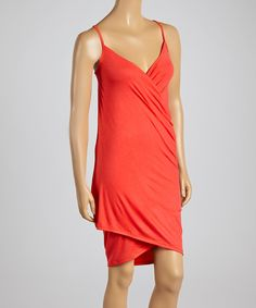 Love this Coral Wrap Cover-Up by La Class on #zulily! #zulilyfinds