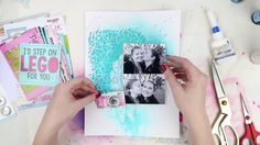 Scrapbooking Proces Video ~ Hello Lover ~ Flutterby Mad About You Collec...