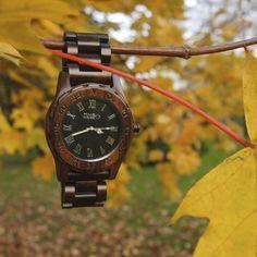 Ceas din lemn TimeWood Jedi Unisex Wood Watch, Unisex, Wooden Clock