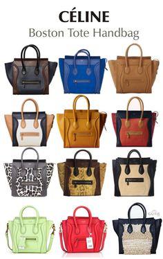 MY DREAM! celine handbags. i\u0026#39;ll take them all! i want one in every ...