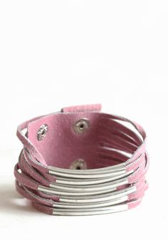 Suburban Lifestyle Bracelet In Pink 22.00 at threadsence.com