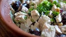 Barbecue Chicken and Grape Salad | Food.com