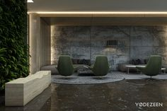Entrance lobby of business centre Leonardo, Kiev on Behance
