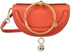 Chloé Small Nile Minaudiére Clutch, Red, One Size