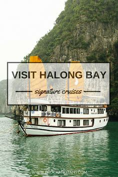 What cruise to take in Halong Bay? What to see and do in Halong Bay. Vietnam Travel Guide, Thailand Travel Tips, Asia Travel, Asia Cruise, Houseboat Rentals, Travel Inspiration, Travel Ideas, Travel List, Best Vacations