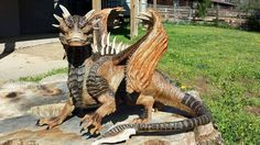 Draco Statue from Dragonheart Picture Lizard Dragon, Dragon Heart, Spyro The Dragon, Clay Dragon, Unicorn Fantasy, Fantasy Dragon, Magical Creatures, Fantasy Creatures, Draco