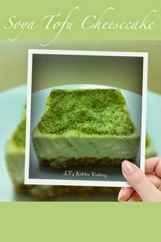 LY's Kitchen Ventures: Soya Tofu Cheesecake (Non-baked)