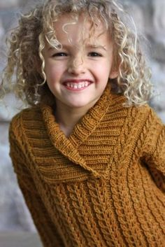 Looking for knitting project inspiration? Check out Yesternight Child's Pullover by member Mind of Winter. - via @Craftsy
