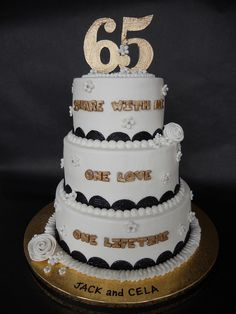 65th wedding anniversary party on pinterest wedding for Decoration 65th anniversary