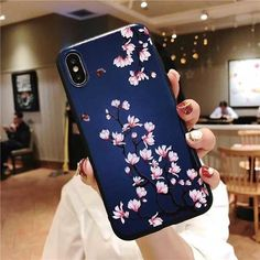 diy phone case 840625086684462456 - LACK Retro Flowers Phone Case For iphone XS Max For iphone XR X 8 7 6 Plus Cover Cartoon Magnolia Peony Relief Cases Capa – For iphone XS Max St Source by CreativeDreamscape Iphone 6, Iphone Phone Cases, Iphone 7 Plus, Vintage Iphone Cases, Phone Covers, Aesthetic Phone Case, Retro Flowers, Flower Vintage, Phone Gadgets