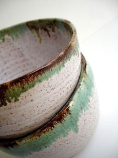 Rustic Dinnerware - Pottery Bowls