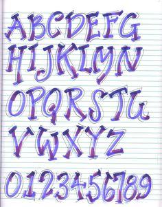 graffiti arm letter name alphabet Hand Lettering Alphabet, Doodle Lettering, Creative Lettering, Graffiti Lettering, Calligraphy Letters, Typography Fonts, Lettering Design, Brush Lettering, Doodle Alphabet