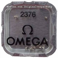 Omega Schraube für Werkbefestigungsbügel Nr. Omega 2376 - Omega