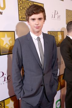 Freddie Highmore attends Critics' Choice Television Awards
