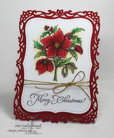 Christmas Rose by CherylQuilts - Cards and Paper Crafts at Splitcoaststampers