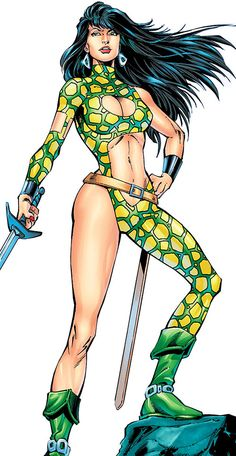 Starfire - Pre-Crisis DC Comics - DC implosion - Michelinie - Profile - Writeups.org Starfire Dc, Dc Comics Girls, Character Profile, Spice Girls, Princess Zelda, Disney Princess, Barbarian, Girl Power, Pocahontas